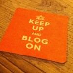 Keep up and blog on2